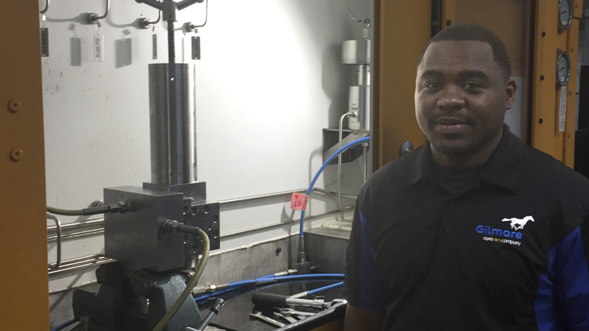 Glimpse into Gilmore: Anthony Hatchett, serious about service
